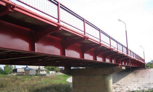 Покрытый ПФ грунтом мост
