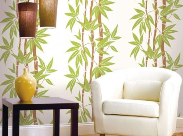 Полотна с растительным рисунком