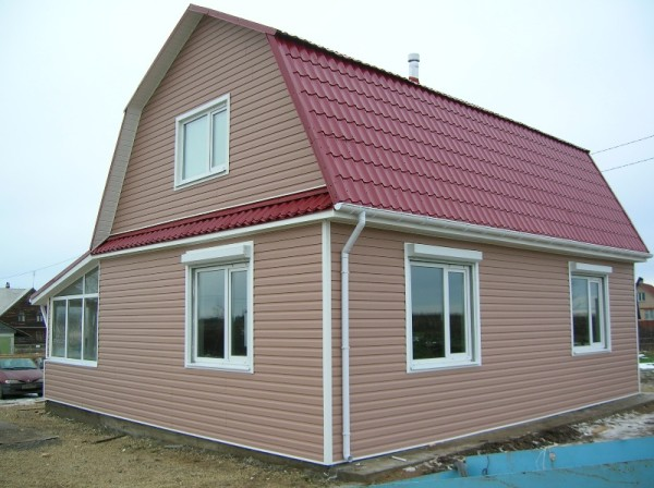 После окончания работ вы получаете полностью готовый фасад