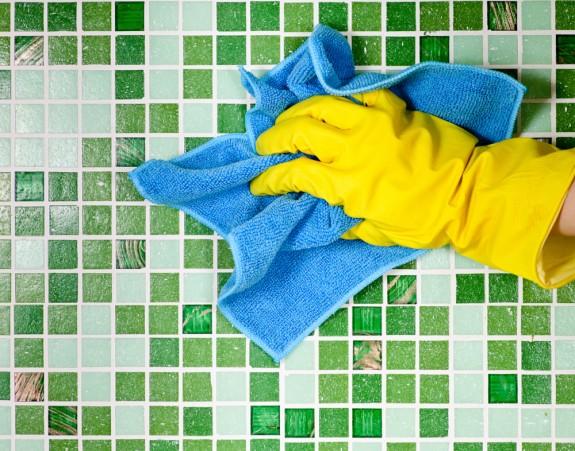 Поверхности должны выдерживать регулярную уборку