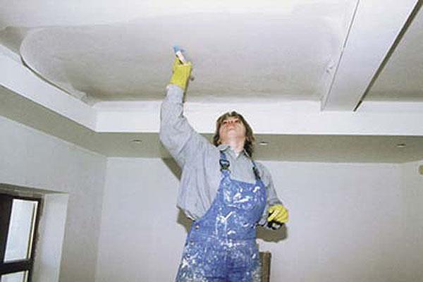 Преображаем потолок.