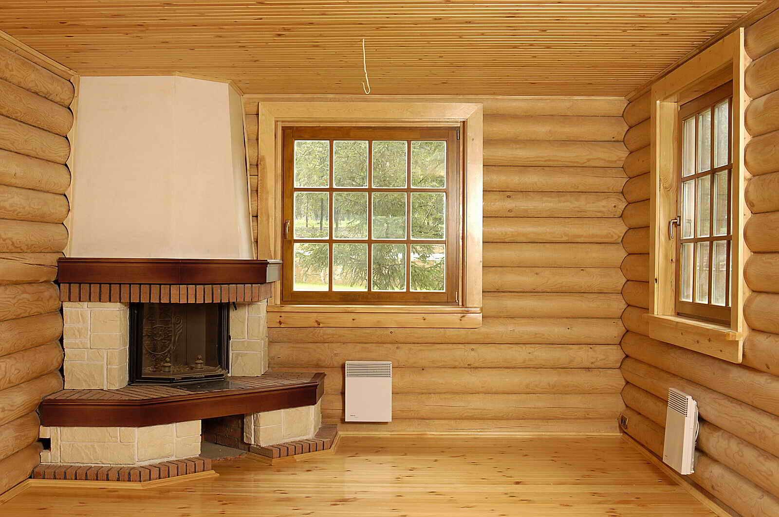При создании элегантного и гармоничного дизайна применяйте только природные материалы.