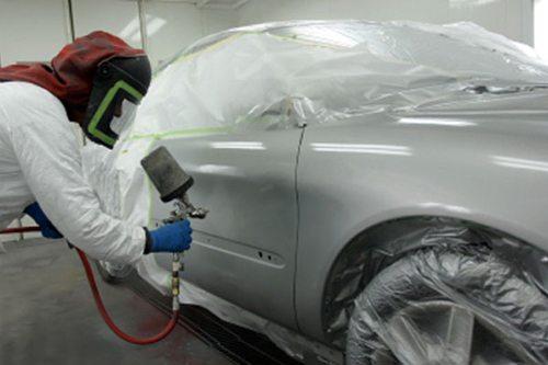 Применение краскопульта в покраске автомобилей