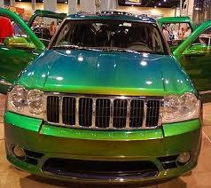 Пример автомобильного кузова обработанного нитрокраской