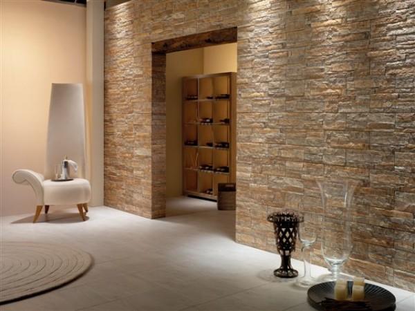 Пример комнаты в декоративной плитке