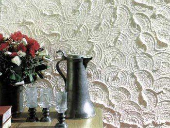 Пример рельефа на поверхности полотен.