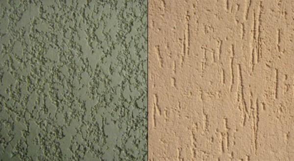 Пример текстуры декоративной штукатурки