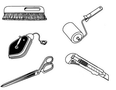 Примерно так выглядит минимальный набор инструмента.