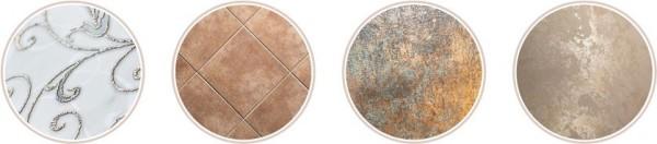 Примеры плиточных поверхностей