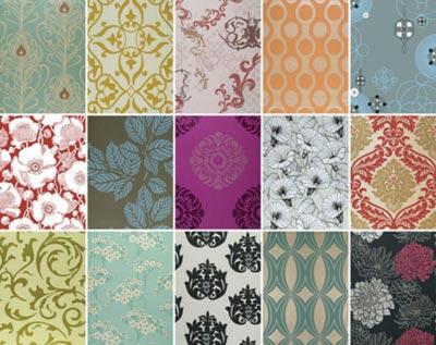 Примеры возможных расцветок бумажных изделий