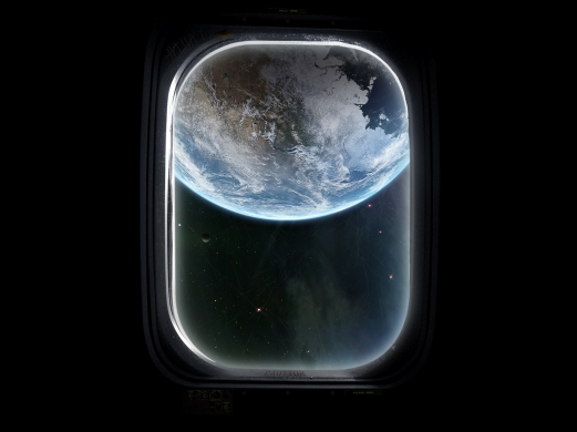 Приобретите изделия с люминесцентным покрытием, и ночью у вас в комнате будет великолепный вид на землю с борта космического корабля