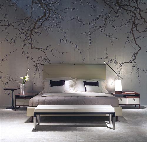 Природные тона и изображения растений способствуют здоровому сну
