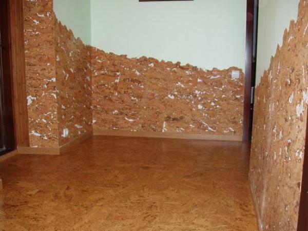 Пробковое покрытие для стен
