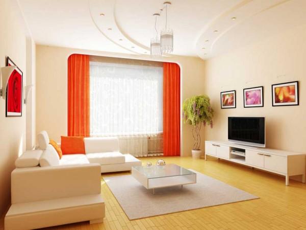 Продумав интерьер до мелочей, можно сделать гостиную главной достопримечательностью дома