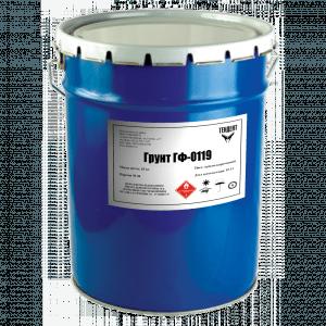 Производители грунтовки ГФ-0119 поставляют свой продукт в тарах самой разной емкости на все объёмы работ, отсюда и цена, хотя состав и качество подчинены стандартам и неизменно высоки у всех
