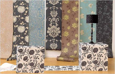 Расцветки обоев в интерьере комнаты могут принимать самый неожиданный вид