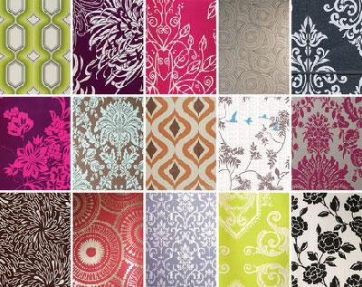 Разнообразие различных типов материала