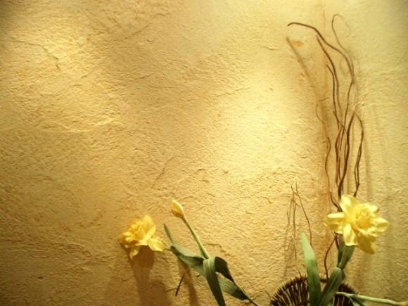 Рельефная текстура придаст помещению элегантный вид