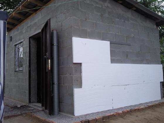 Ремонт и отделка бань применением плит пенополистирола