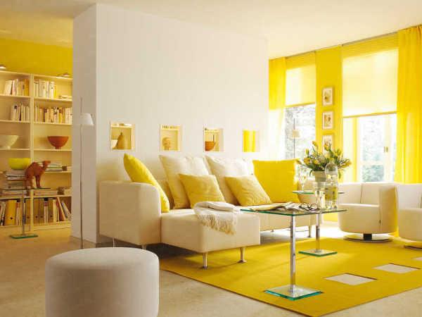 Решая, как выбрать цвет краски для стен, обратите внимание в первую очередь на цветовую палитру пола, мебели; главная цель – достижение гармонии