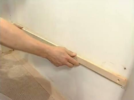 Рейки для обивки стен тканью