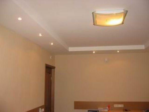 Результат качественной покраски потолка