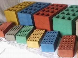 Результаты работы на фото, окраска бетонных изделий – одна из самых известных сфер применения именно красящих веществ
