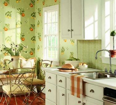 Рисунок обоев для стен должен создавать настроение в помещении и не напрягать зрение