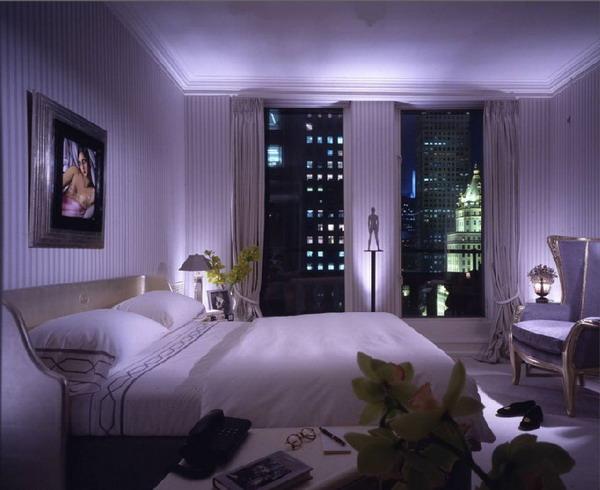 Романтика сиреневой спальни.