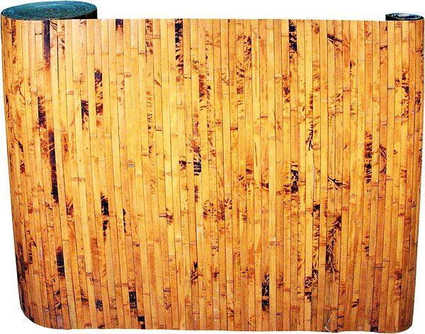 Рулон бамбуковых обоев.