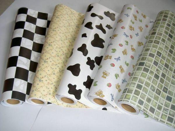 Рулоны бумажных обоев