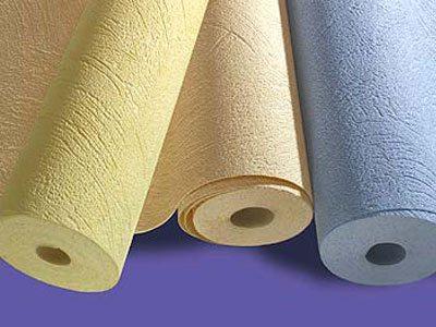 Рулоны бумажных обоев под покраску