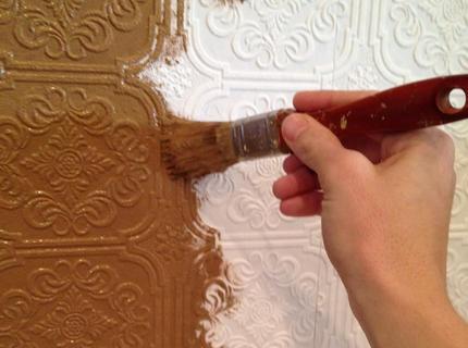 Самостоятельная покраска с помощью кисти