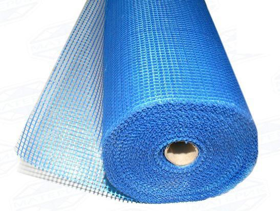 Сетка из стекловолокна способствует улучшению сцепления штукатурки и газобетона