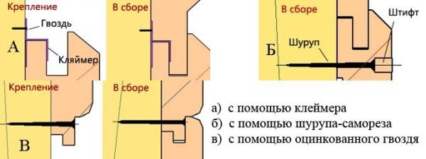 Схема монтажа.