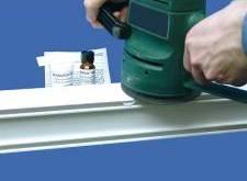 Шлифмашинкой можно быстро и качественно выровнять поверхность