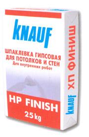 Шпатлевка для потолка и стен «Кнауф»