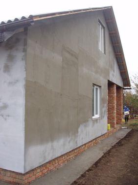 Штукатурка - один из старейших способов отделки фасада.