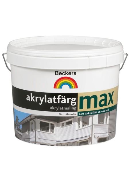 Шведская фасадная краска.