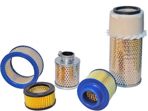 Сменные фильтрующие элементы для входящего воздуха.
