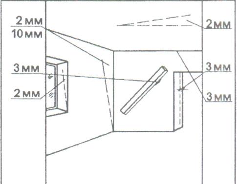 СНиП предъявляет определённые требования к исходной поверхности (см. описание в тексте)