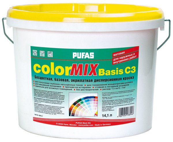 Со специальным составом-основой колеровка краски для стен и других поверхностей пройдет максимально просто