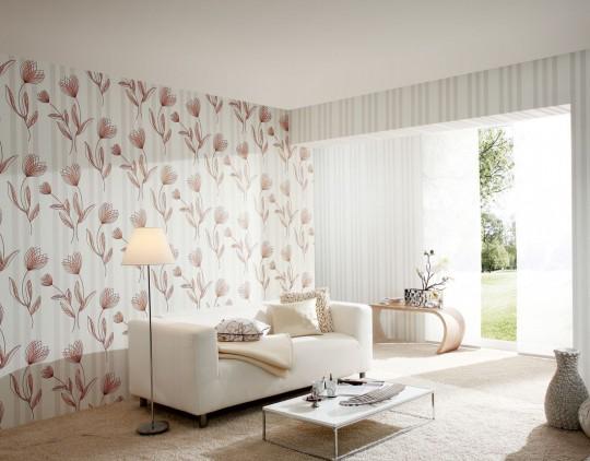 Сочетание расцветок, делающих комнату воздушной и невесомой