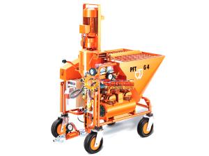 Современная штукатурная машина PFT G4.