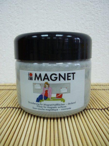 Специальная магнитная грунтовка, предназначенная для создания слоя для удержания небольших металлических предметов на доске