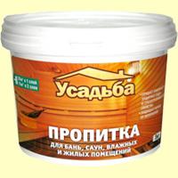 Специальная пропитка, предназначенная для работы в сауне или бане