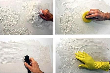Способы формирования поверхности под декоративной штукатуркой