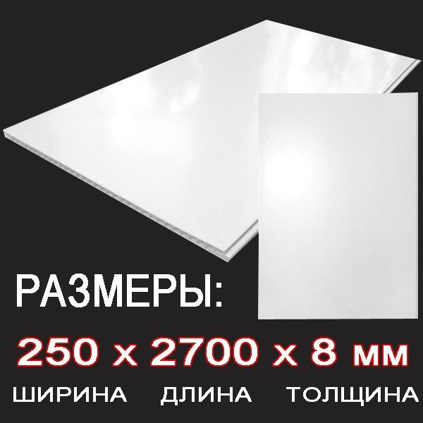 Стандартные размеры панели