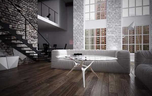 Старые стены и новая мебель