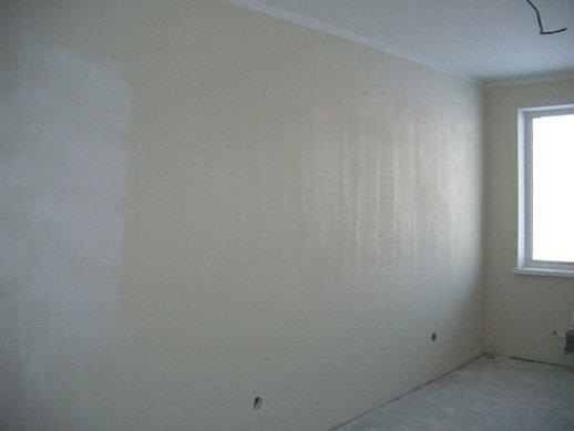 Стена, готовая к финишной облицовке